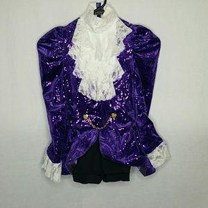 Weissman Purple Sequined Prince Dance Costume